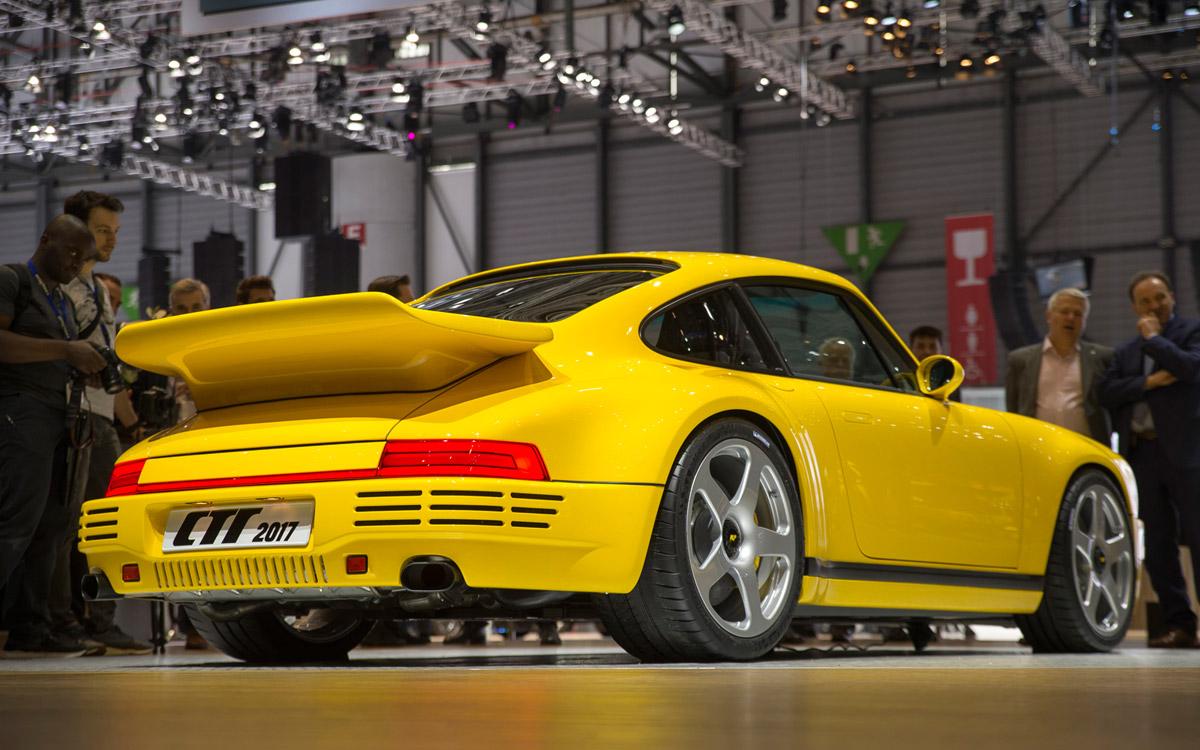 RUF Porsche mit High-Tech-Komponenten von HIRSCHMANN